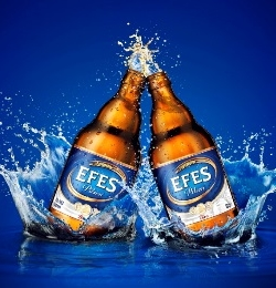 Старт виробництва пива під брендом Efes Pilsner у Туреччині