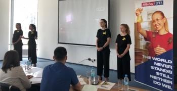 AB InBev Efes Україна допомагає змінювати світ на краще: компанія долучилася до розвитку молодіжних бізнес-проектів