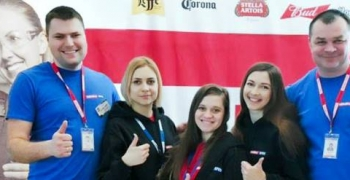 AB InBev Efes взяла участь у ярмарку вакансій «НУХТ ВЕСНА 2019»