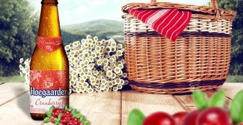 Нове фруктове пиво Hoegaarden Cranberry – відтепер в Україні