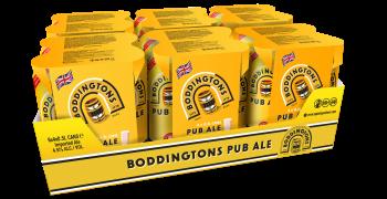 AB InBev оновила упаковку бренда Boddingtons на більш дружню  до природи