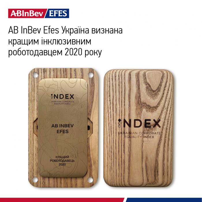 AB InBev Efes Україна визнана кращим інклюзивним роботодавцем 2020 року