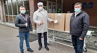 AB InBev Efes Україна закупила і передала кисневі концентратори в чернігівські, миколаївські та харківські лікарні