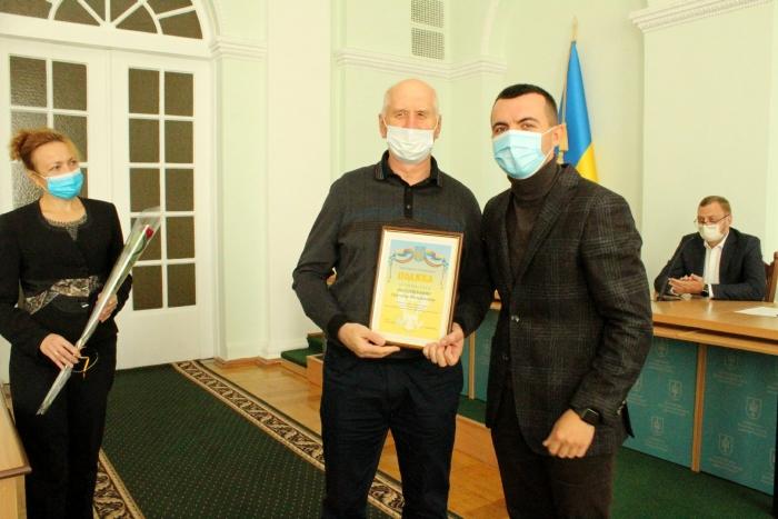 Співробітник AB InBev Efes Україна отримав Подяку Чернігівської обласної ради